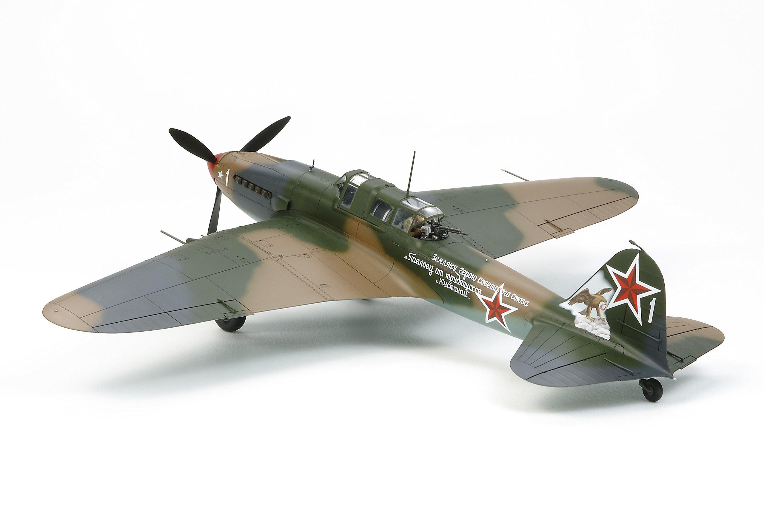 TAMIYA America, Inc 1/48 Ilyushin IL-2 Shturmovik Aircraft, TAM61113 2