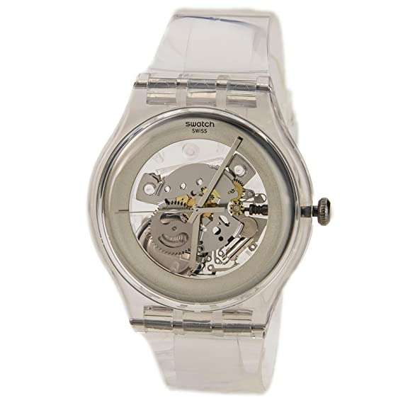 Swatch SUOK105 - Reloj analógico unisex de plástico: Swatch: Amazon.es: Relojes