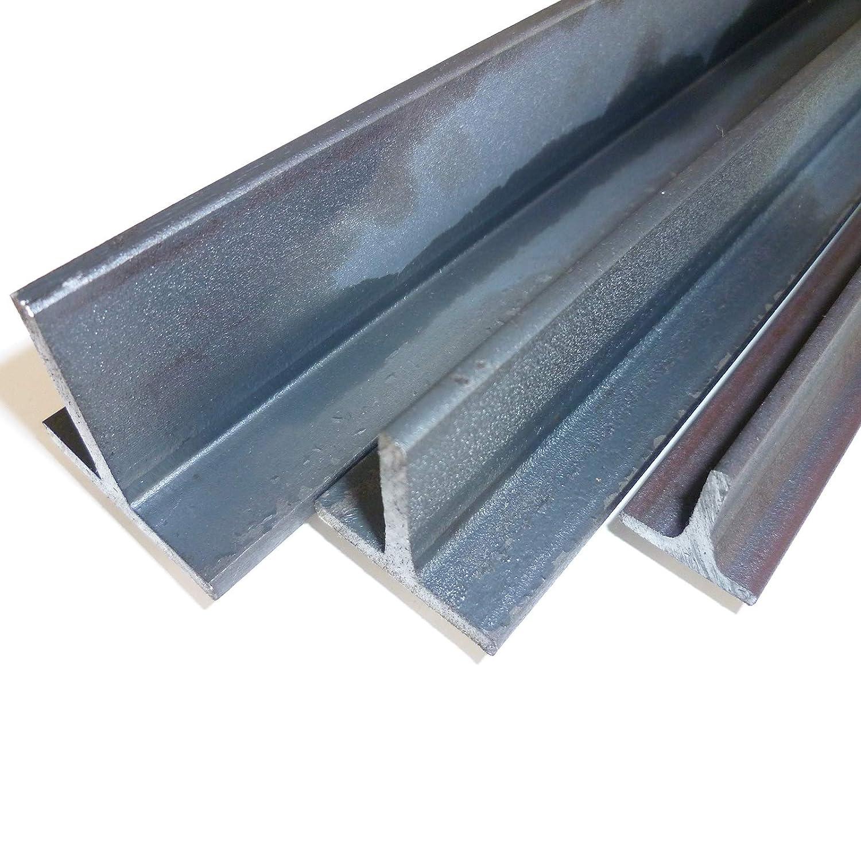 5mm S235 1.0038 ST37 T-Tr/äger T 40 Rohstahl unbehandelt B/&T Metall Stahl T-Profil 40 x 40 x 5 mm gleichschenklig in L/ängen /à 1500 mm //