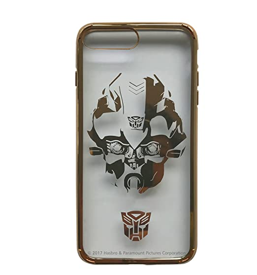 detailed look 86dc0 7ff63 Transformers: Licensed Phone Case - Bumblebee Gold - Clear PC Snap-On Hard  Shell, for iPhone 7 Plus, iPhone 8 Plus - Swordfish Tech