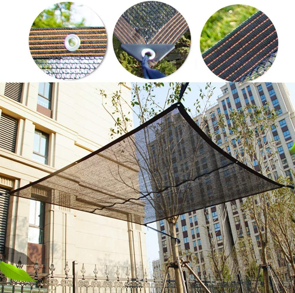 Tela de Sombra Tela de Pantalla Solar de Jardinero, Reduce La Temperatura Proporciona 65% Más Sombra, para Porche/Invernadero/Pérgola/Deportes Al Aire Libre (Size : 2X5m): Amazon.es: Hogar
