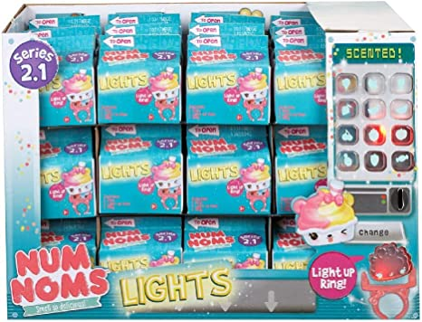 MGA Entertainment 548355e5 C num Nom Lights Mystery Pack Series 2 ...