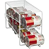 'Home Basics Soda Can Beverage Dispenser Rack – Dispenses 12 Standard Size 12 oz Soda Cans and Holds Canned Foods' from the web at 'https://images-na.ssl-images-amazon.com/images/I/71t8dVd0uYL._AC_UL160_SR160,160_.jpg'