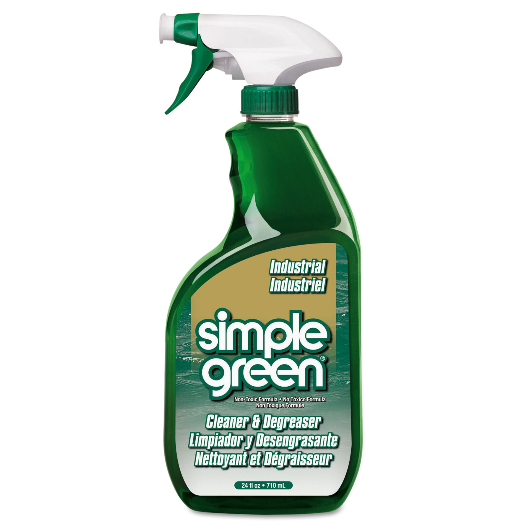 Simple Green 2710001213012 Concentrated Cleaner/Deodorizer, 24 fl. oz., Trigger Spray (Pack of 12)