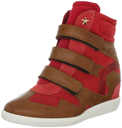 Bullboxer 380503 MA133805030N-A10 - Zapatillas fashion de ante para mujer, color beige, talla 40