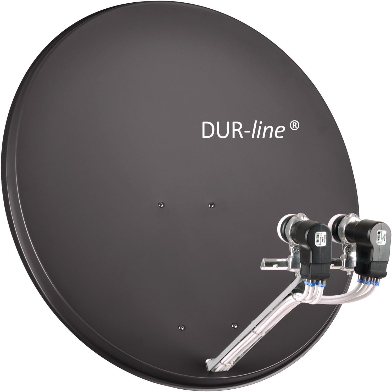 Antena Parab/ólica DuraSec de Line Select aluminio sat/élite
