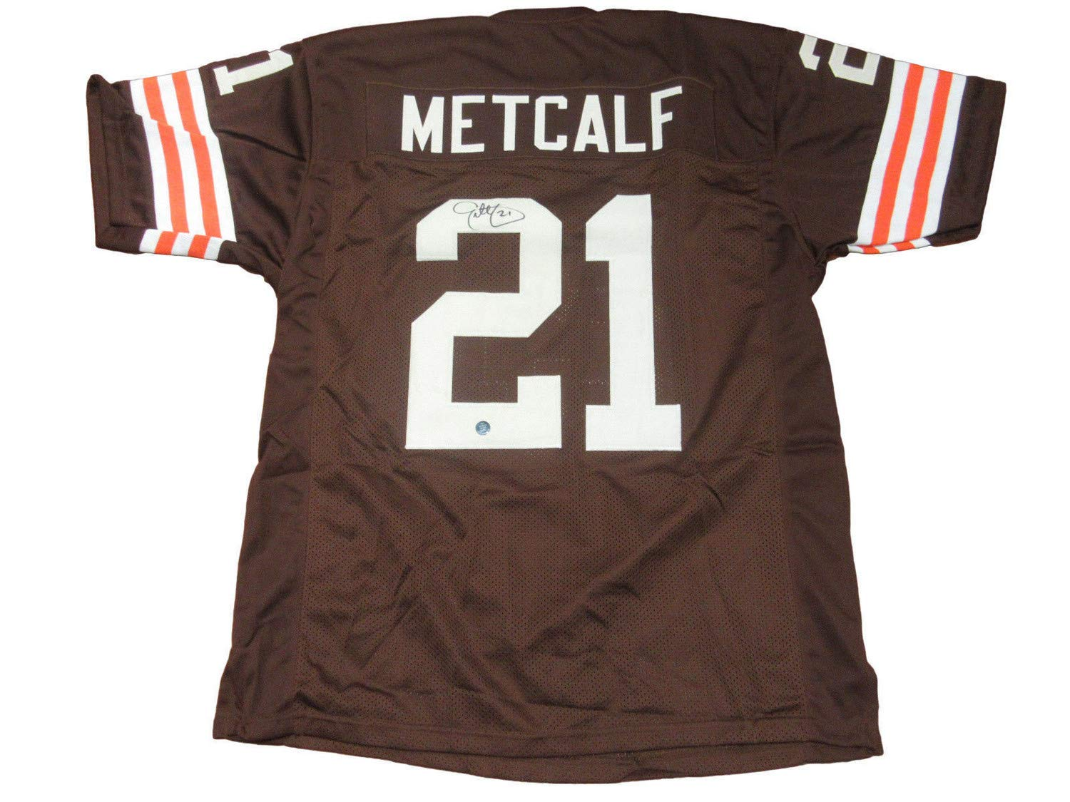 Eric Metcalf Autographed Signed Browns Jersey - JSA Certified