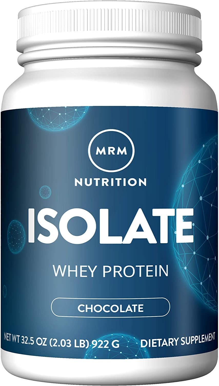 MRM 100% All Natural Isolate Whey Protein, Hormone and BSE free, Chocolate Malt, 2.03 lbs (32.5 oz)