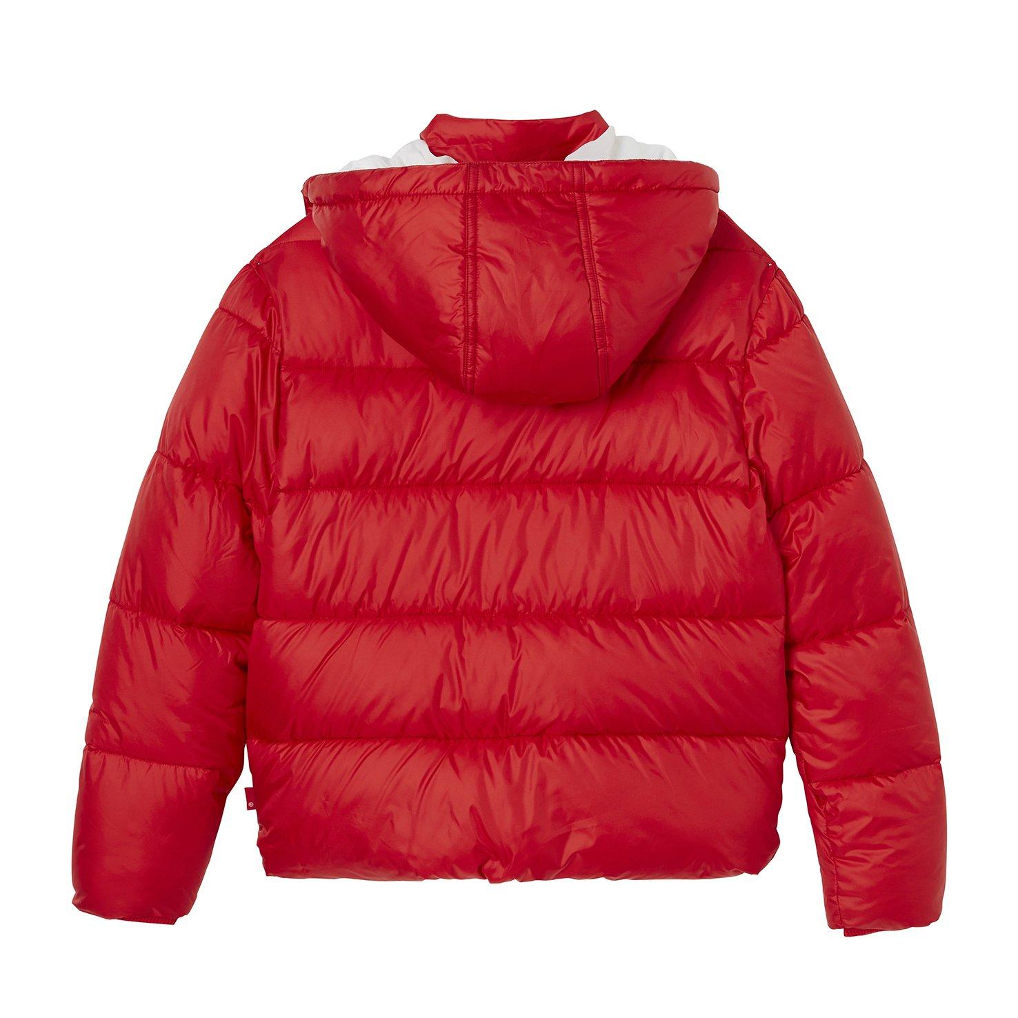 405a425026b7 Levi s Kids Girl s Raincoat NM41517 (Dark Red 37)  Amazon.co.uk  Clothing