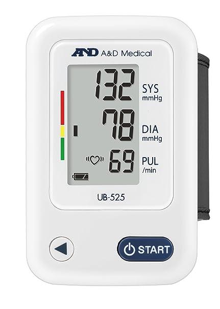 UB-525 Tensiómetro digital de muñeca, detección de pulso arrítmico, validado clínicamente: Amazon.es: Salud y cuidado personal