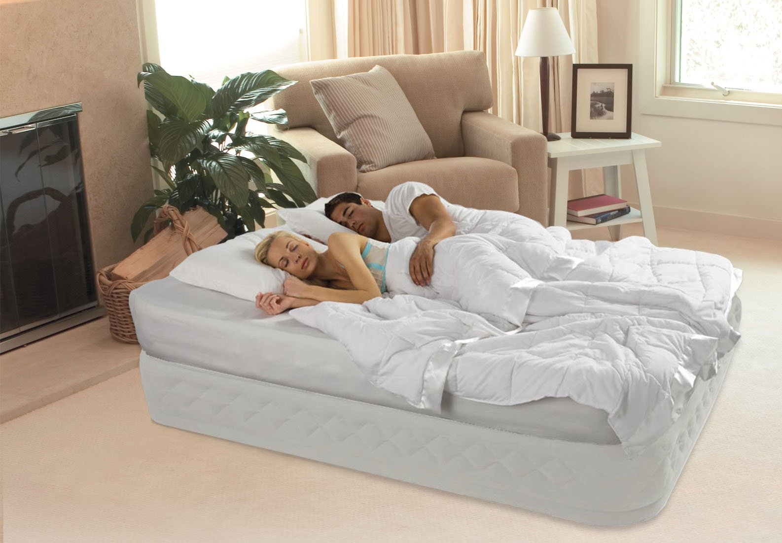 Intex Supreme Air-Flow Bed Queen