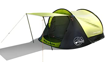 Malamoo Xtra 3 Second Waterproof 3 Person C&ing Tent  sc 1 st  Amazon.com & Amazon.com : Malamoo Xtra 3 Second Waterproof 3 Person Camping ...