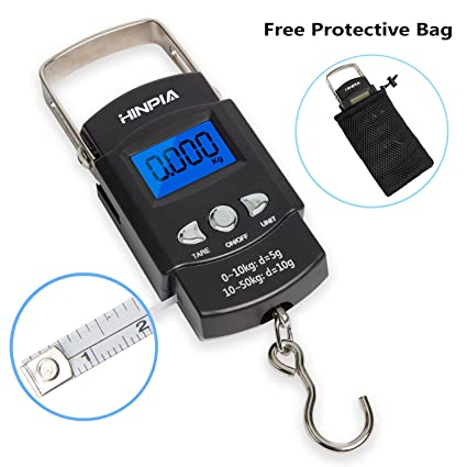 Luggage New Digital Handheld Electronic Postal Fishing Scales 6A