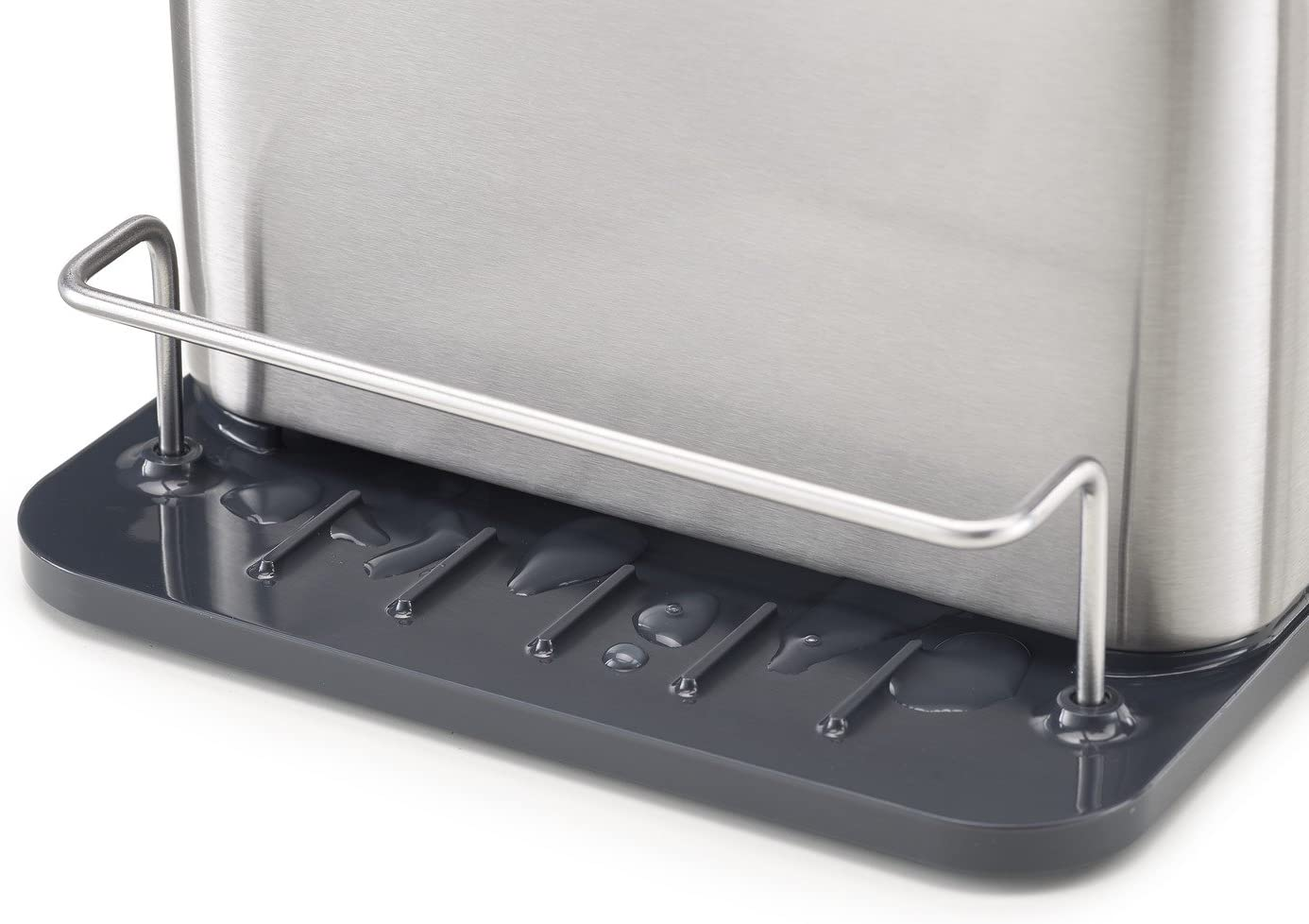 Silver /& Joseph Intelligent Waste Carbon Odour Filter Refills Pack of 2 Joseph Joseph Surface Stainless-Steel Caddy Sink Area Organiser