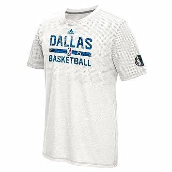 Adidas Dallas Mavericks NBA Blanco práctica Camuflaje Aeroknit Climacool Rendimiento Manga Corta Camiseta para Hombre, Blanco: Amazon.es: Deportes y aire ...