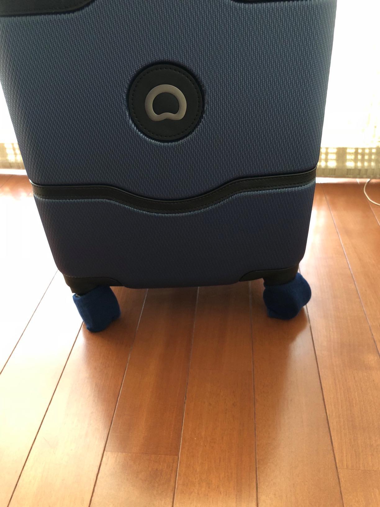 abcbdaf9d9 Natural Stuff 】 スーツケース ホイール用 カバー 保管時の床汚れを防止 ...