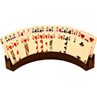 """Twin Tier Premier Playing Card Holder (Set of 2) - Holds Up to 32 Playing Cards Easily - 12 1/2"""" x 4 1/2"""" x 2 1/4"""" - Stack for Storage - Made in The USA"""