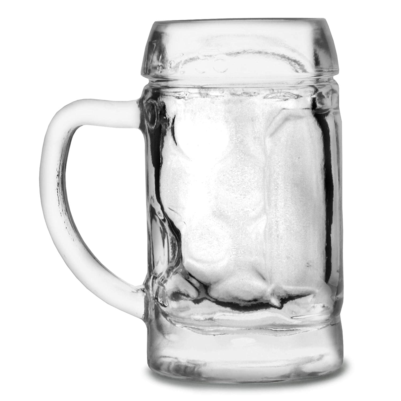 con riempimento Mark a 4cl St/ölzle-Oberglas 4533188047 Mini Boccale di birra 5cl 12 Boccale