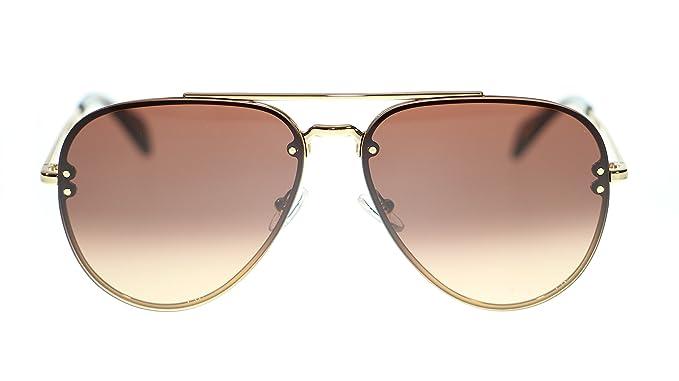 0bd4167911ed Amazon.com  Celine Unisex Sunglasses Cl41392 J5G US Gold Brown ...