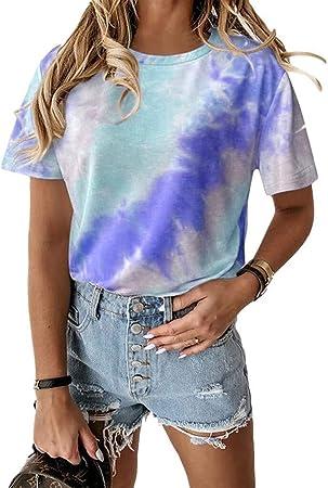 XiuLi Tops para Mujer Camisetas Camisas de Manga Larga ...