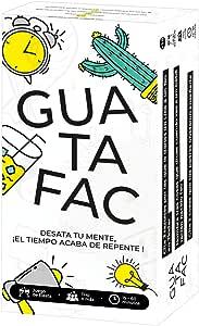 GUATAFAC 🔥 – Juego de Mesa - Juego de Cartas para Fiestas y Risas 🎉 – Edición Español 😈: Amazon.es: Juguetes y juegos
