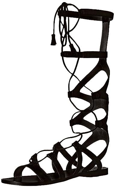 a4e258dafc Amazon.com: FRYE Women's Ruth Tall Gladiator Sandal: Shoes
