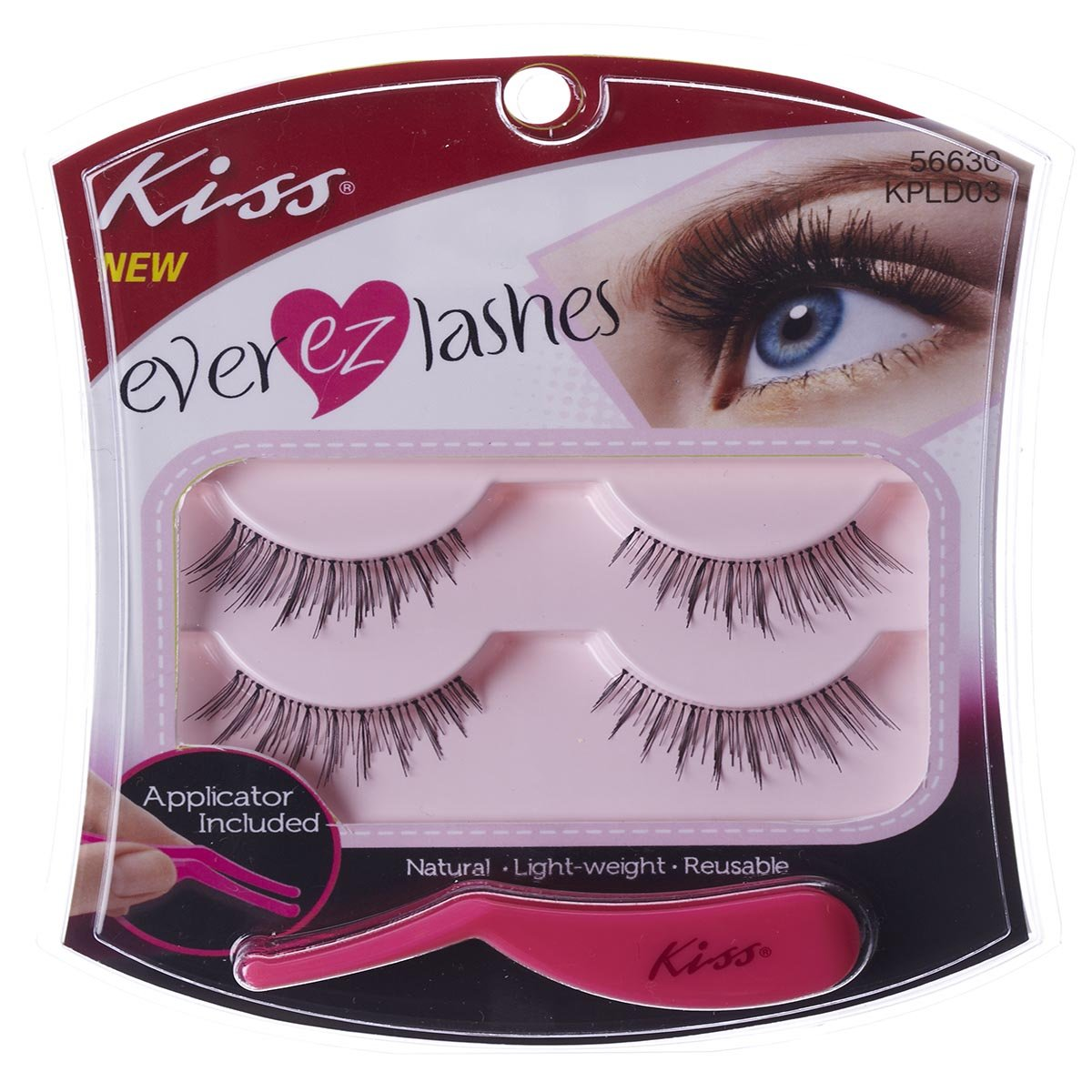 KISS EVER-EZ Lash Double Pack 02 (KPLD03)