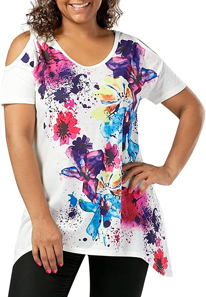 FAMILIZO_Camisetas Mujer Verano Blusa Mujer Elegante Camisetas ...