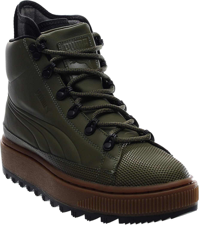 temperamento Sastre anfitrión  Amazon.com | PUMA Men's The Ren Boot Burnt Olive/Puma Black Athletic Shoe |  Fashion Sneakers