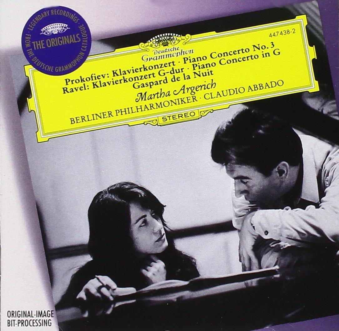 Sergei Prokofiev, Maurice Ravel, Claudio Abbado, Berlin Philharmonic Orchestra, Martha Argerich - Prokofiev: Piano Concerto No. 3 / Ravel: Piano Concerto in ...