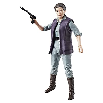 Star Wars The Black Series Episode 8 General Leia Organa, 6-inch: Toys & Games