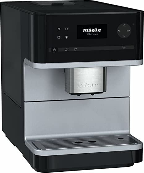 Miele Cm6100 Freestanding Bean To Cup Coffee Machine 18 Litre 1500 Watt 15 Bar Obsidian Black