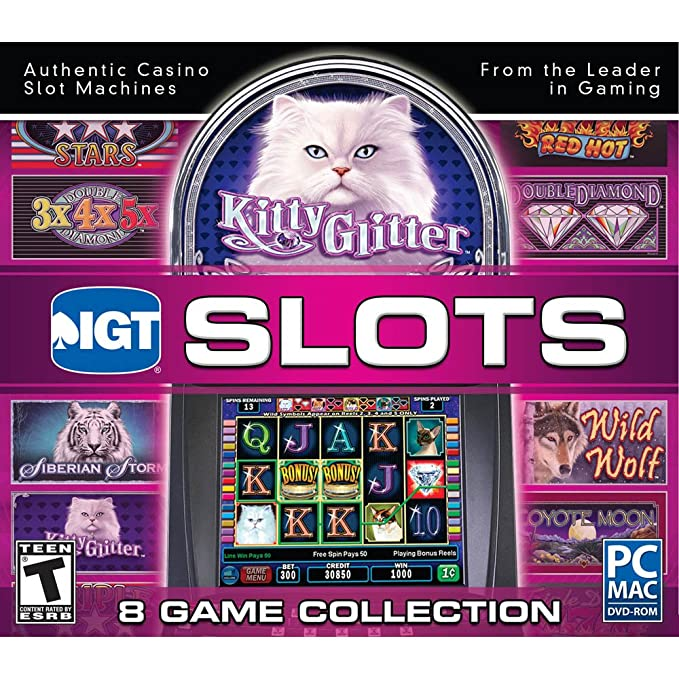 6042425af50e Amazon.com: IGT Slots Kitty Glitter 8 Game Collection: Software