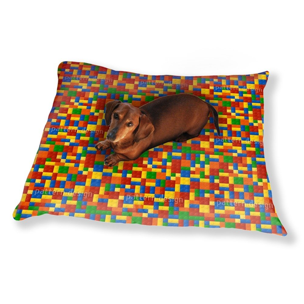 Plastic Pieces Dog Pillow Luxury Dog / Cat Pet Bed