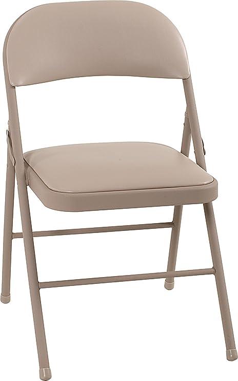 Amazon.com: Cosco All Steel - Silla plegable (4 unidades ...