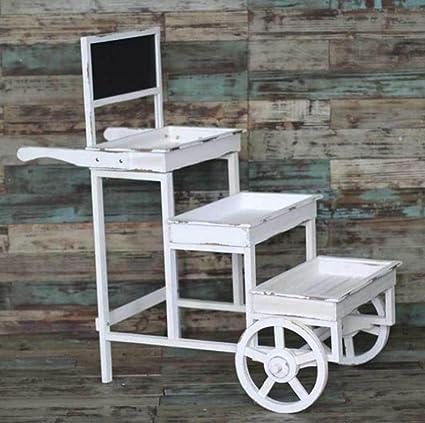 New day®-Productos de decoración para el hogar jardín balcón de madera balcón plataforma