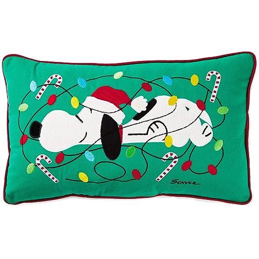 Hallmark - Cojín Luminoso de Navidad con diseño de Peanuts ...