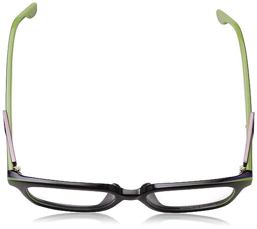 84c6b45dbd36 Amazon.com  Diesel Rx Eyeglasses Frames DL5111-F 095 55-17-150 Black Lime  Green Asian Fit  Clothing