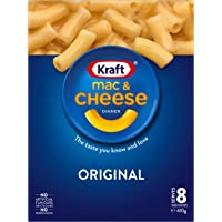 Kraft Mac & Cheese Original Dinner Pasta in Family Size, 410g