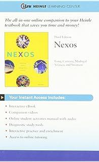 Amazon Bundle Nexos 3rd ILrn Heinle Learning Center 3