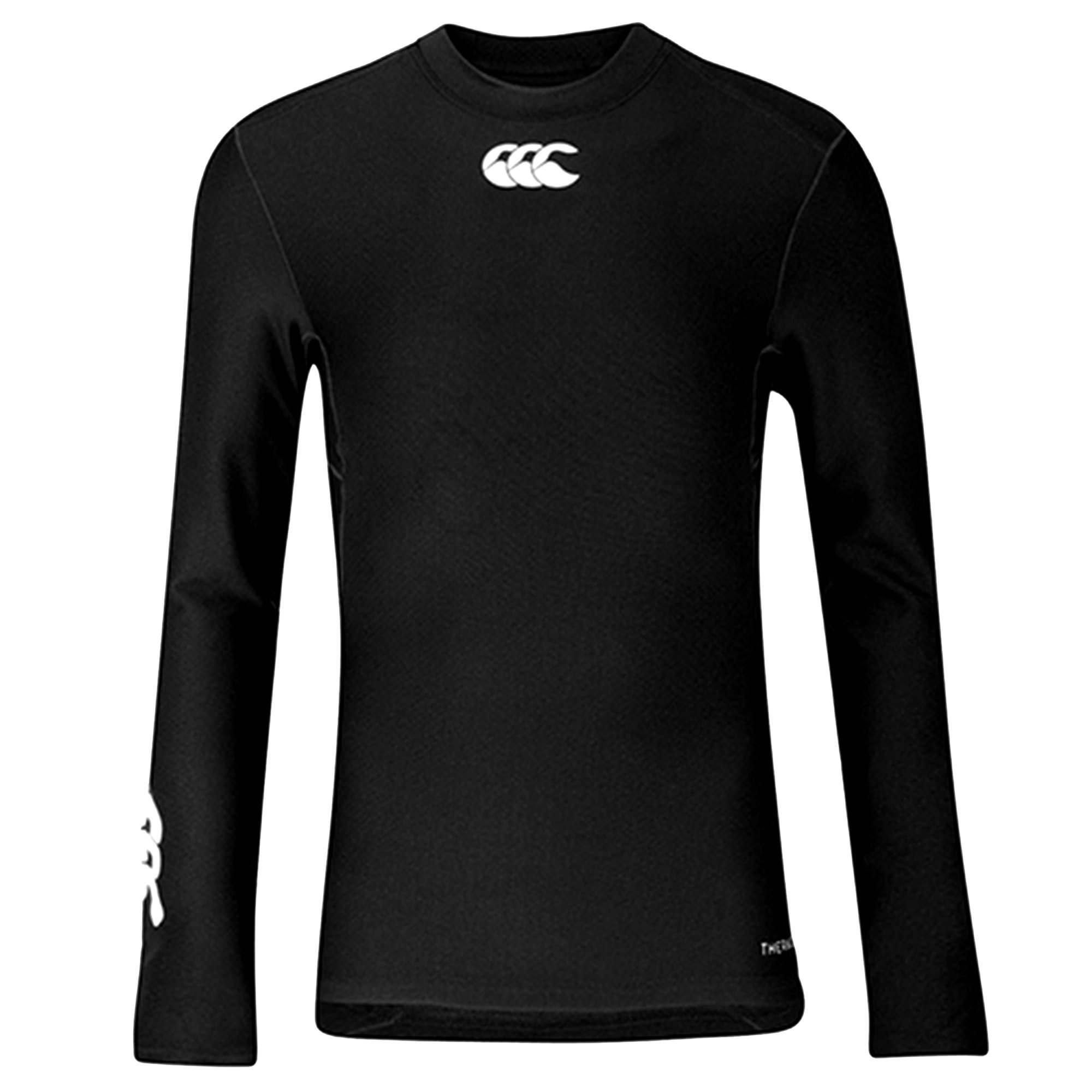 Canterbury Childrens/Kids Long Sleeve Thermoreg Base Layer Top (S) (Black) by Canterbury