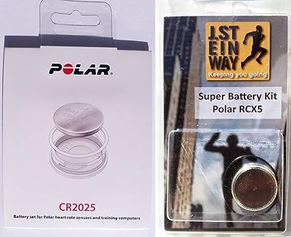 Kit de batería Polar genuino con la cubierta de la batería para el ...