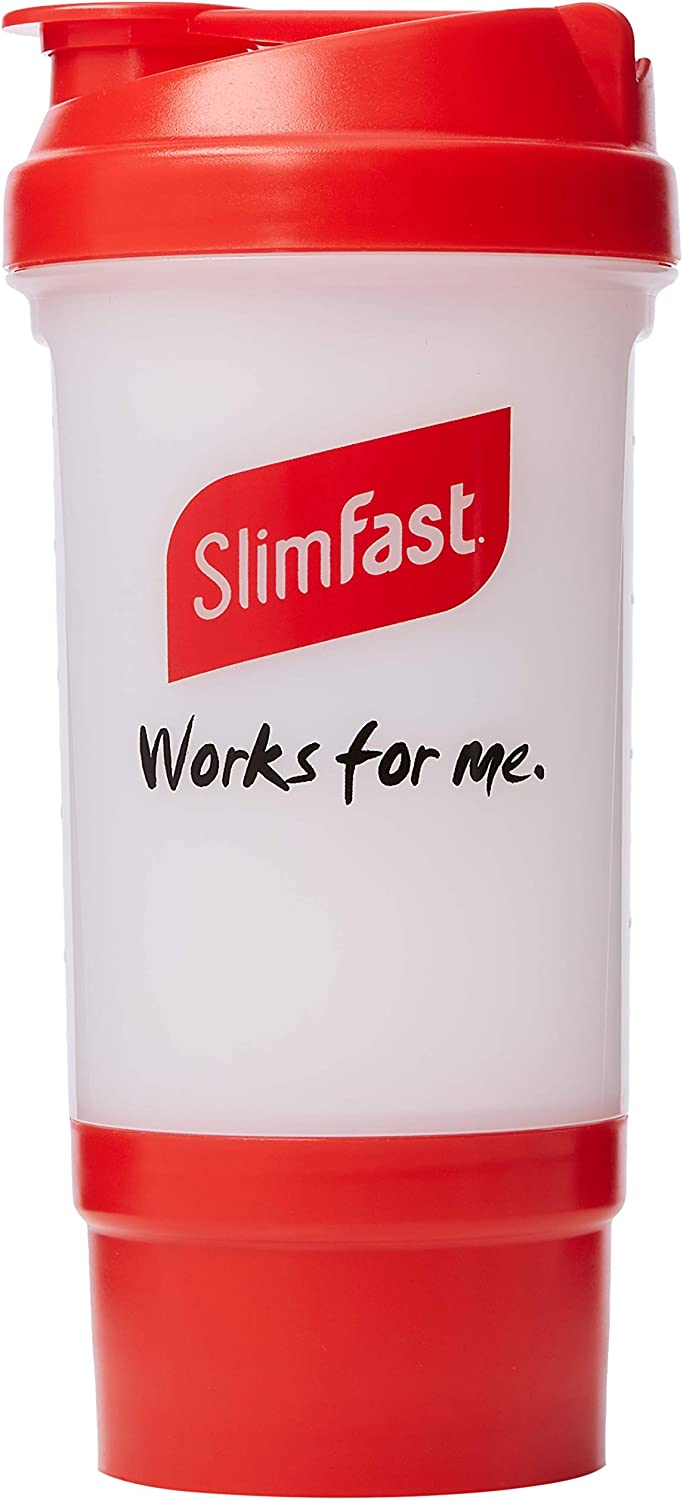 SlimFast Shaker with Storage Compartment
