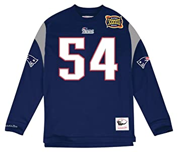 Tedy Bruschi New England Patriots Mitchell   Ness NFL Men s