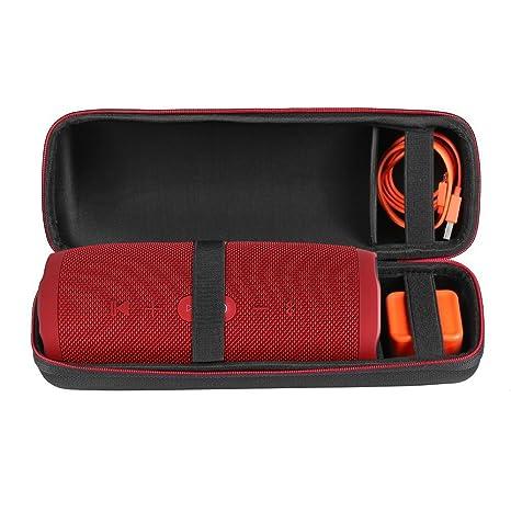 Scorel Étui JBL Charge 3 Anti-poussière Housse de Protection Avec Poche pour  Câble et 3e0852a71fb