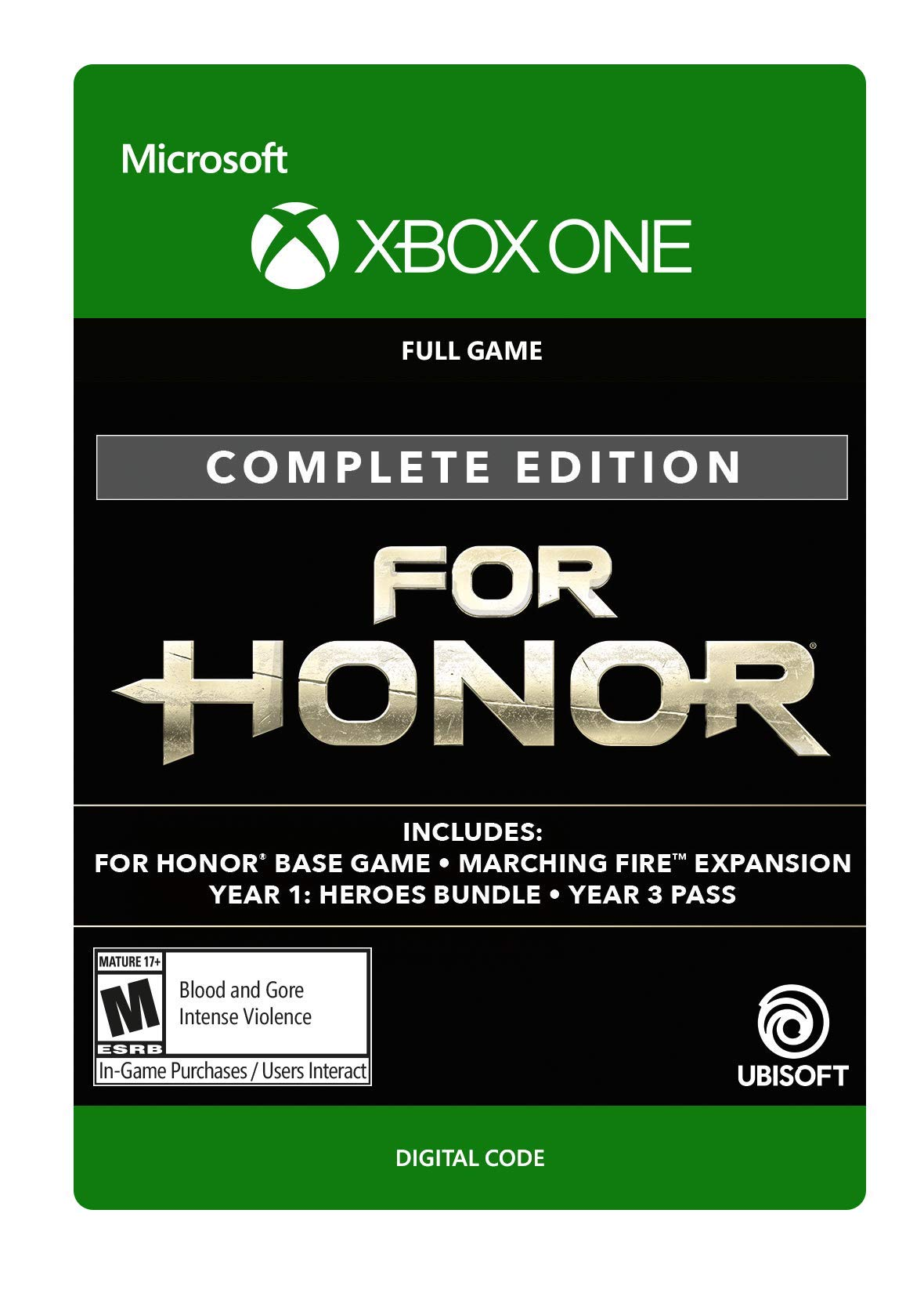 For Honor Complete Edition - Xbox One [Digital Code] by Ubisoft (Image #1)