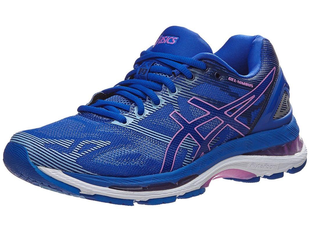 ASICS Women's Gel-Nimbus 19 Running-Shoes, Blue Purple/Violet/Airy Blue, 8.5 Medium US