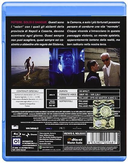 Amazon com: Gomorra (Blu-Ray): marco macor, toni servillo