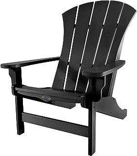 product image for Nags Head Hammocks Sunrise Adirondack Chair, Black