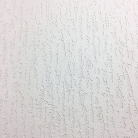 Genial Paintable Vinyl Wallpaper Thick Durable Embossed Textured White Luxury  Pyramide